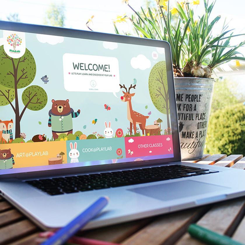 PlayLab Website
