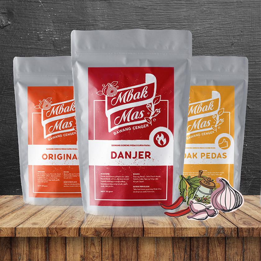 Mbak Mas Fried Onion Packaging