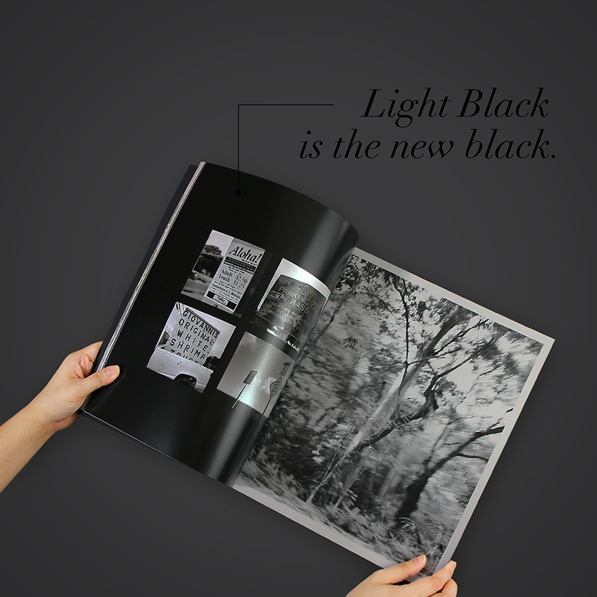 Black and White Photobook